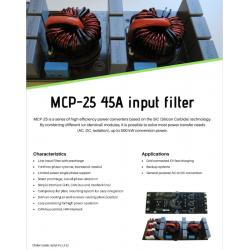 MCP-25 45A input filter