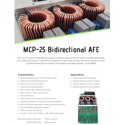 MCP-25 Bidirectional AFE...