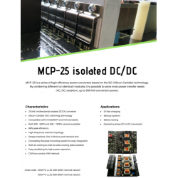MCP-25 isolated DC/DC (400V...