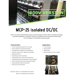 MCP-25 isolated DC/DC (800V...